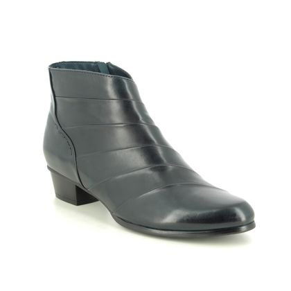 Regarde le Ciel Boots - Ankle - Navy Leather - 0293/150 STEFANY 293