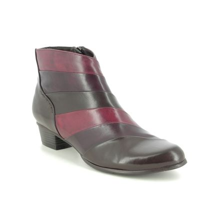 Regarde le Ciel Ankle Boots - Brown Wine - 0293/416 STEFANY 293