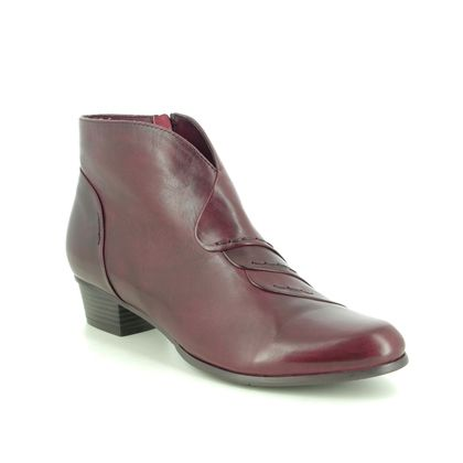 Regarde le Ciel Ankle Boots - Wine leather - 0335/008 STEFANY 335