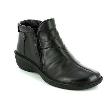 Relaxshoe Fashion Ankle Boots - Black - 291014/30 AMYBOOT
