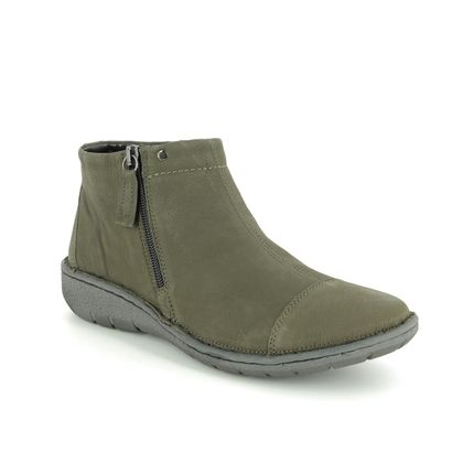 Relaxshoe Boots - Ankle - Green - 37572/90 FRIDA