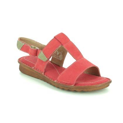 Relaxshoe Comfortable Sandals - Coral - 319047/81 MERLIA