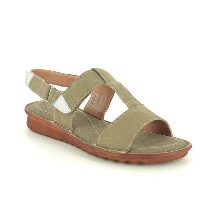 Relaxshoe Comfortable Sandals - Green - 319047/90 MERLIA