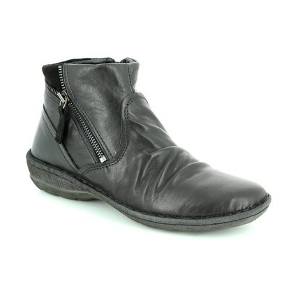 Relaxshoe Fashion Ankle Boots - Black - 272010/30 SUFFLE 62