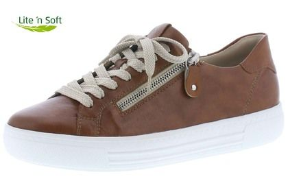Remonte Trainers - Tan Leather - D0903-24 ALTOZIP