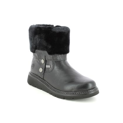 Remonte Mid Calf Boots - Black - D3976-02 ASTROTURN TEX