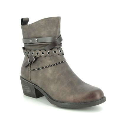 Remonte Ankle Boots - Dark taupe - R1171-25 BERNONTE