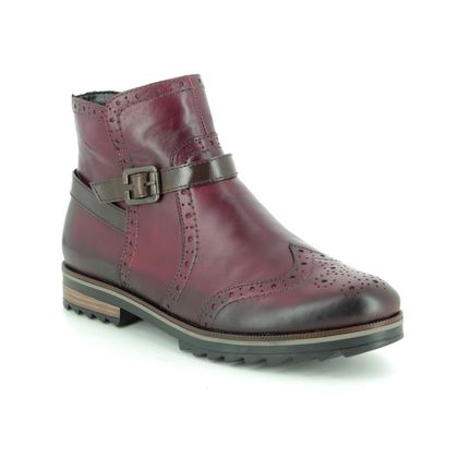 Remonte Chelsea Boots - Wine leather - R2278-36 CHELSEA ZIG 85