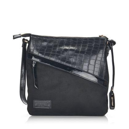 Remonte Handbags - Black croc - Q0702-02 CROC BODY