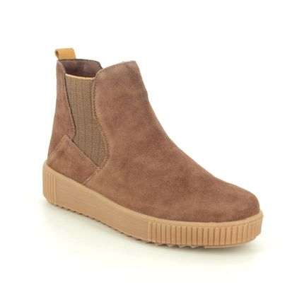 Remonte Chelsea Boots - Tan suede - R7994-24 DURLONTE