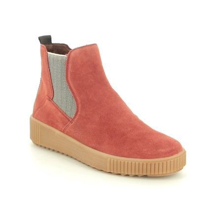 Remonte Chelsea Boots - Red suede - R7994-38 DURLONTE