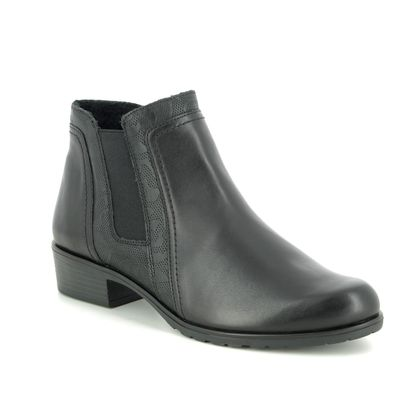 Remonte Chelsea Boots - Black leather - D6876-01 FLORENCIA