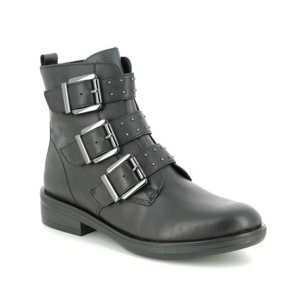 Remonte Boots - Ankle - Black leather - R4973-01 JESSYGRUN