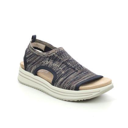 Remonte Walking Sandals - Navy - R2955-14 LENIASLIP