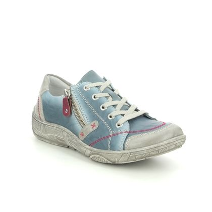 Remonte Comfort Lacing Shoes - Denim - D3808-12 LUVLACE