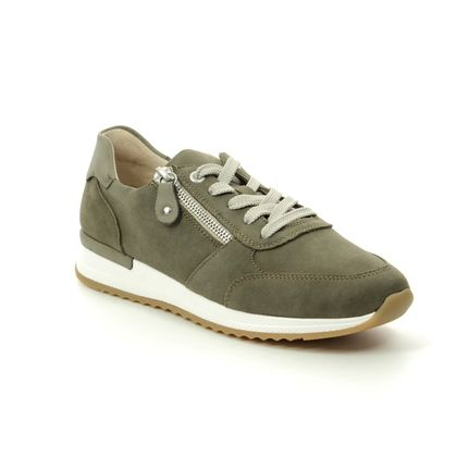 Remonte Trainers - Olive suede - R7010-54 NEDITH