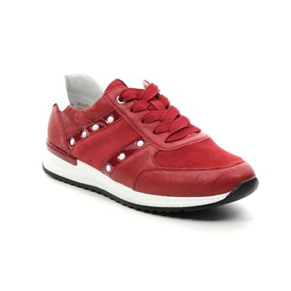 Remonte Trainers - Red leather - R7023-33 NEDITHSTA