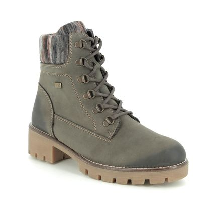 Remonte Boots - Ankle - Grey Nubuck - R5378-45 NITONTECUF TEX