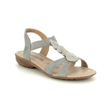 Remonte Comfortable Sandals - Metallic - R3638-90 ODEA