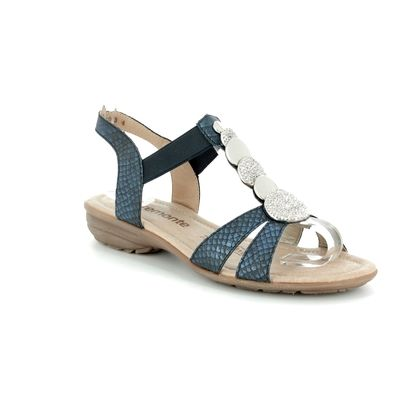 Remonte Comfortable Sandals - Navy - R3638-14 ODEON