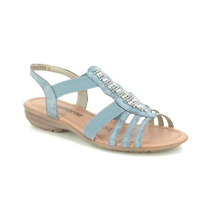 Remonte Comfortable Sandals - Denim blue - R3660-14 ODET