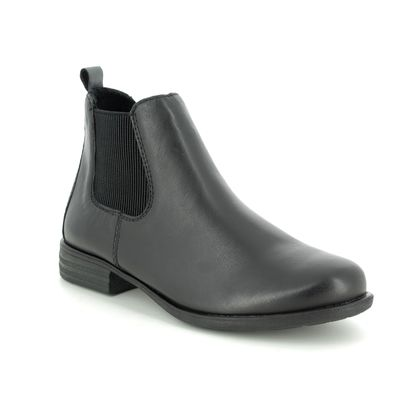Remonte Chelsea Boots - Black leather - R0970-01 PEACHY