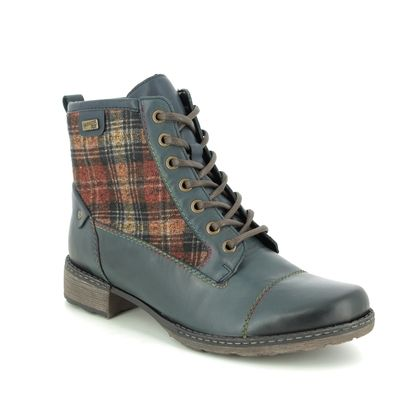 Remonte Boots - Ankle - Navy leather - D4354-14 PEETART TEX