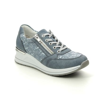 Remonte Trainers - Blue - D3203-14 PETAZIP