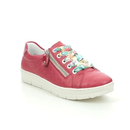Remonte Trainers - Red leather - D5803-33 RAVENNA