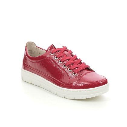 Remonte Comfort Lacing Shoes - Red patent - D5822-33 RAVENULET