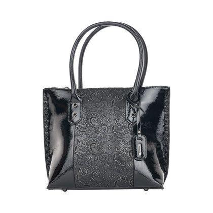 Remonte Handbags - Black patent - Q0431-03 REMONTE BAG