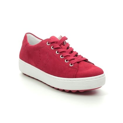 Remonte Trainers - Red suede - D1004-33 SCALACE