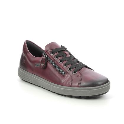 Remonte Comfort Lacing Shoes - Wine leather - D4400-35 SITANES TEX