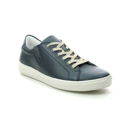 Remonte Comfort Lacing Shoes - Navy leather - D1402-14 SOFTER 1