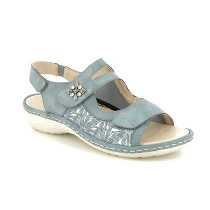 Remonte Comfortable Sandals - Blue - D7647-15 SUNNY