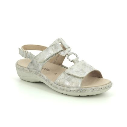Remonte Comfortable Sandals - Metallic - D7648-94 SUNNYVEL