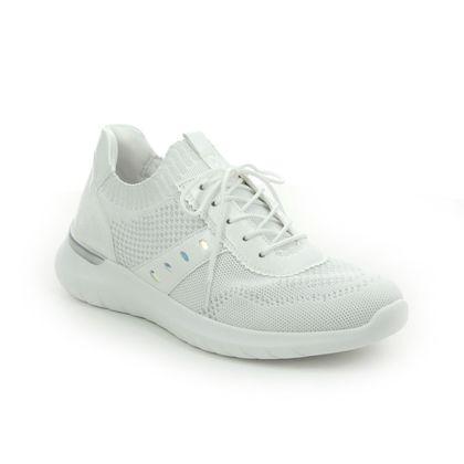Remonte Trainers - White - R5701-80 VALOUR