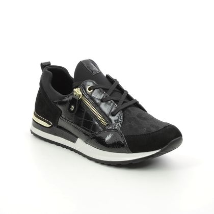 Remonte Trainers - Black gold - R2529-01 VAPOURISED