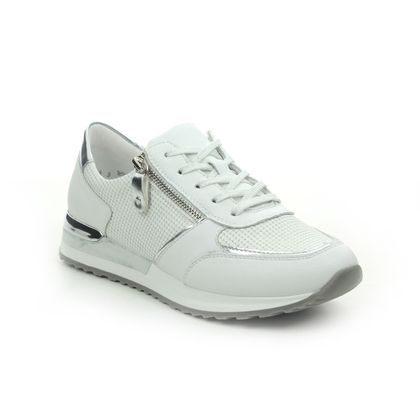 Remonte Trainers - WHITE LEATHER - R2511-80 VAPOZIP