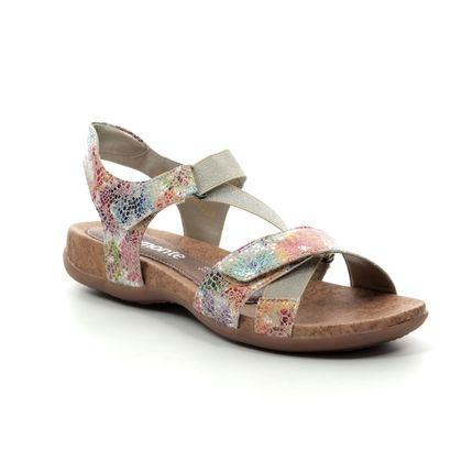 Remonte Comfortable Sandals - Floral print - R3257-91 WOKOR