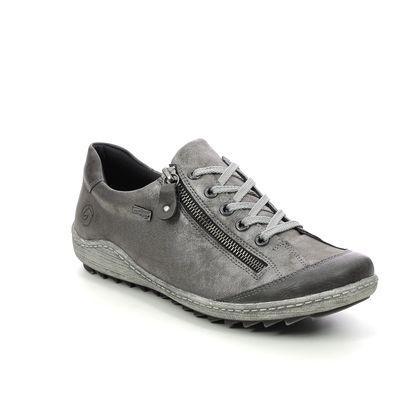 Remonte Comfort Lacing Shoes - Grey - R1402-44 ZIGZIP 85