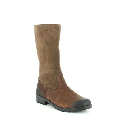 Ricosta Girls Boots - Brown Suede - 7226200/260 DIANA TEX