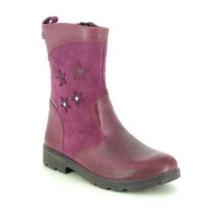 Ricosta Girls Boots - Pink Leather - 72246/362 STEFFI TEX