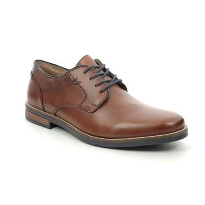 Rieker Smart Shoes - Tan Leather - 13521-24 ADAMPLAIN