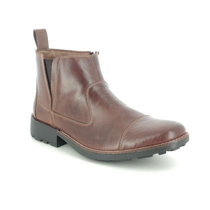 Rieker Boots - Brown - 36050-26 RONCAP