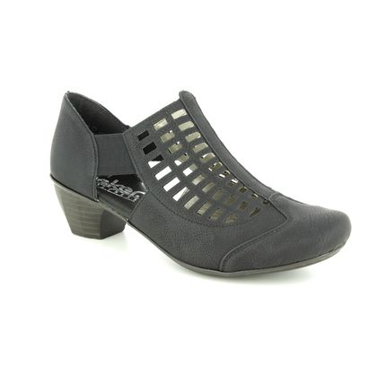 Rieker Closed Toe Sandals - Black - 41773-00 SARFRET