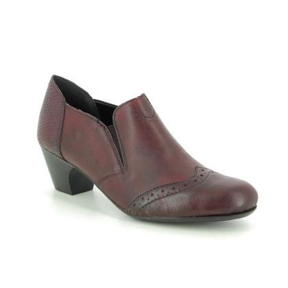 Rieker Shoe Boots - Wine leather - 50563-35 SARALBRO