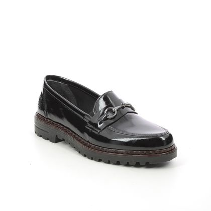 Rieker Loafers and Moccasins - Black patent - 54862-00 PORTCRISSY