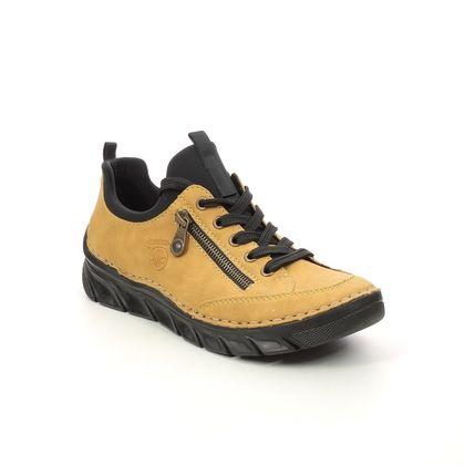 Rieker Trainers - Yellow - 55073-68 CHEERBAN