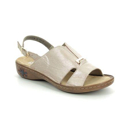 Rieker Comfortable Sandals - ROSE  - 601Q4-31 REGIDEE
